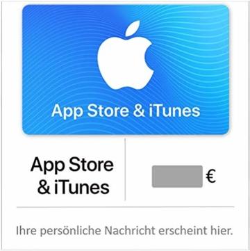 Geschenkkarte für App Store & iTunes Config - für Deutschland - per E-Mail - 1